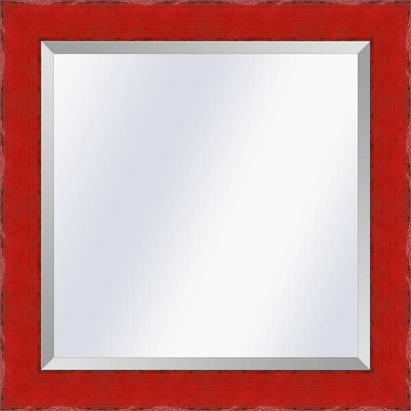 Spiegel in Aziatische stijl Komodo Rood medium 39mm