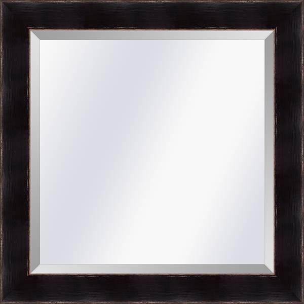 Spiegel in Aziatische stijl Komodo Zwart medium 39mm