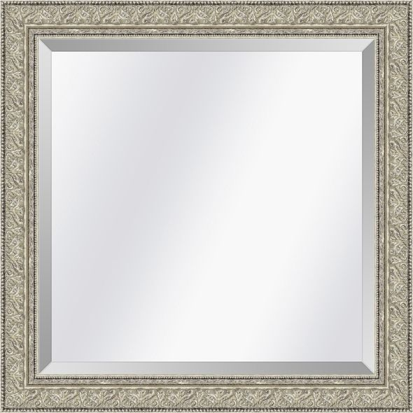 Klassieke spiegel Imperial Zilver medium 62mm