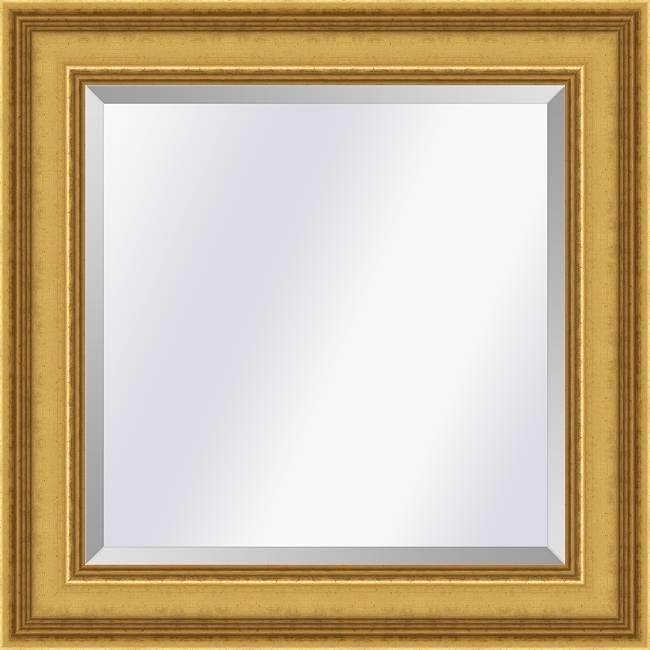 Klassieke spiegel Academie Goud medium 53mm