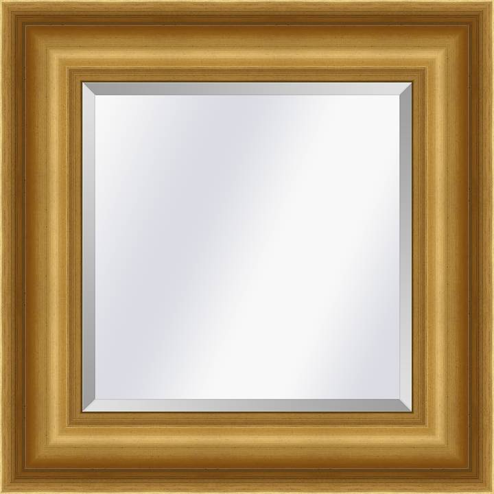 Klassieke spiegel Academie Goud large 76mm