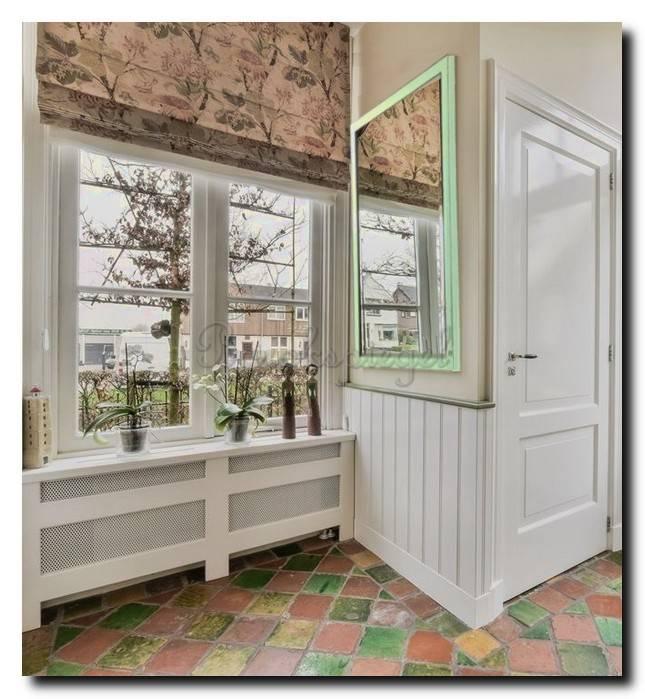 Spiegel in Aziatische stijl Komodo Jade Groen small 26mm