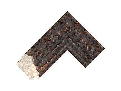 Barokspiegel.nl Mirror Sevilla Brown oak medium 65mm