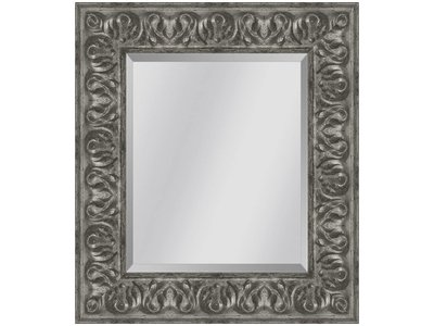 Barokspiegel.nl Mirror Sevilla Antiquesilver large 87mm