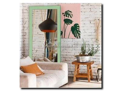 Barokspiegel.nl Mirror Komodo Jade Green medium 39mm