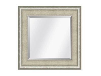 Barokspiegel.nl Mirror Canaletto Ivory-silver medium 70mm