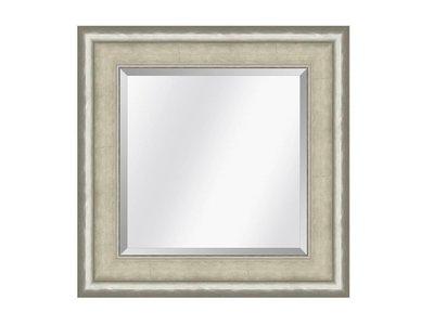 Barokspiegel.nl Spiegel Canaletto Elfenbein-Silber medium 70mm
