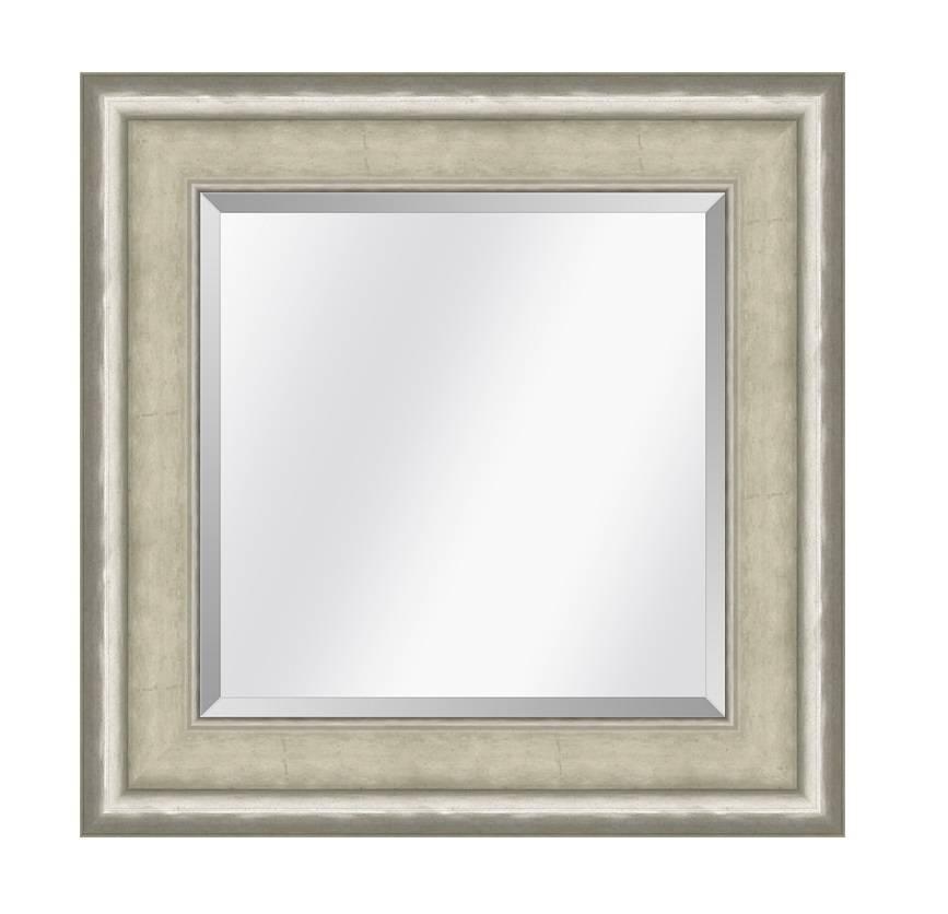Spiegel Canaletto Ivoor-zilver medium 70mm