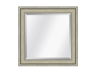 Barokspiegel.nl Spiegel Canaletto Ivoor-zilver small 45mm