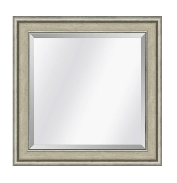Spiegel Canaletto Ivoor-zilver small 45mm