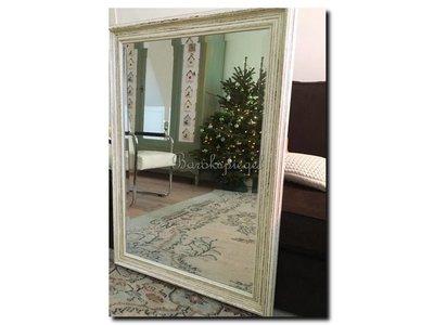 Barokspiegel.nl Mirror Brittany White medium 65mm