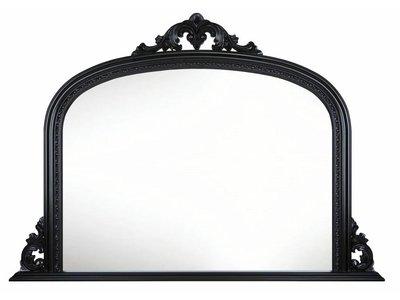 Barokspiegel.nl Mirror Dax Black