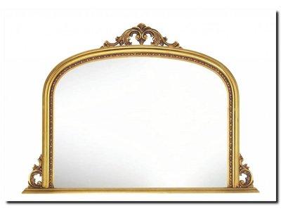 Barokspiegel.nl Mirror Dax Gold