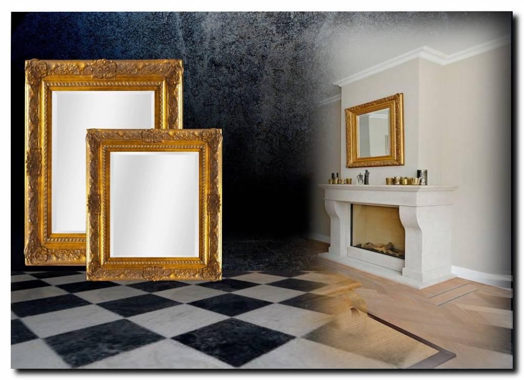 Barok spiegel met gouden lijst Liam