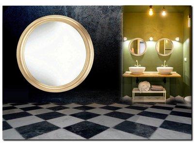 Barokspiegel.nl Mirror Colin - Round