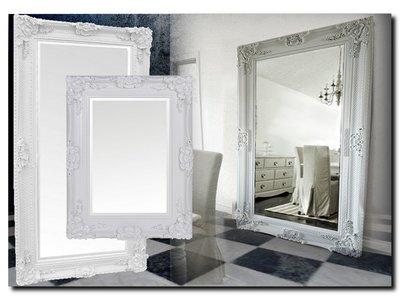 Barokspiegel.nl Mirror Amadeo White