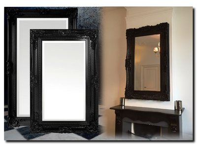 Barokspiegel.nl Mirror Amadeo Black