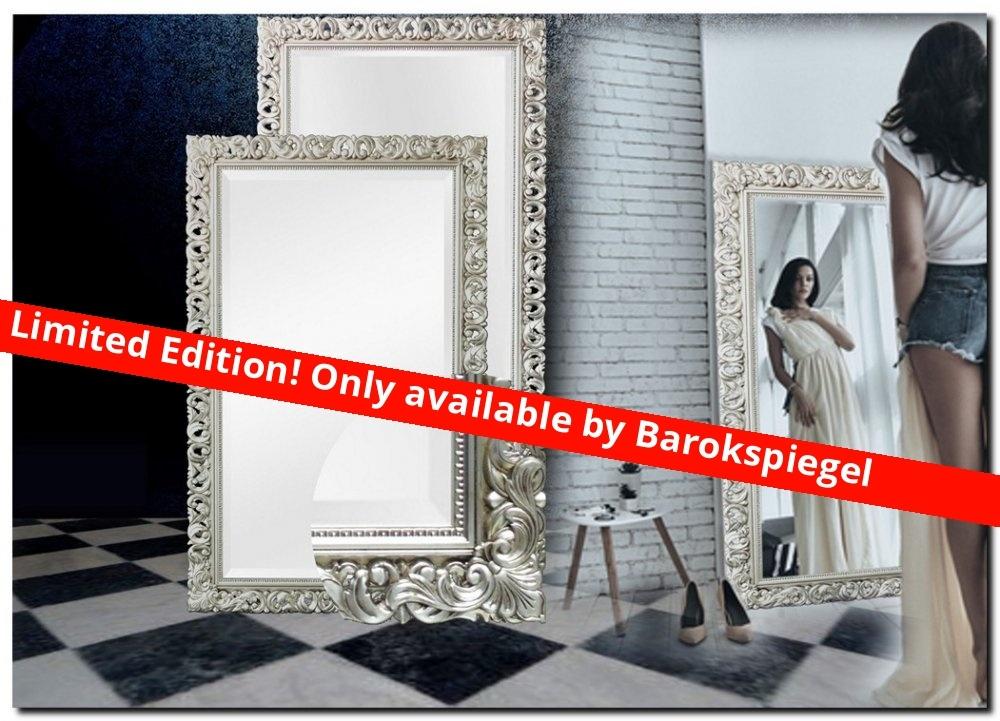 Moderne Barock Spiegel Francesco Zilver