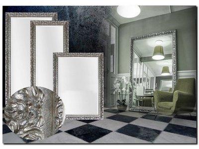 Barokspiegel.nl Mirror Antonio Napoli Silver