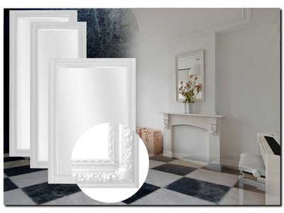 Barokspiegel.nl Mirror Marciano White