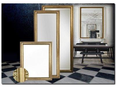 Barokspiegel.nl Mirror Carlo Antiquegold