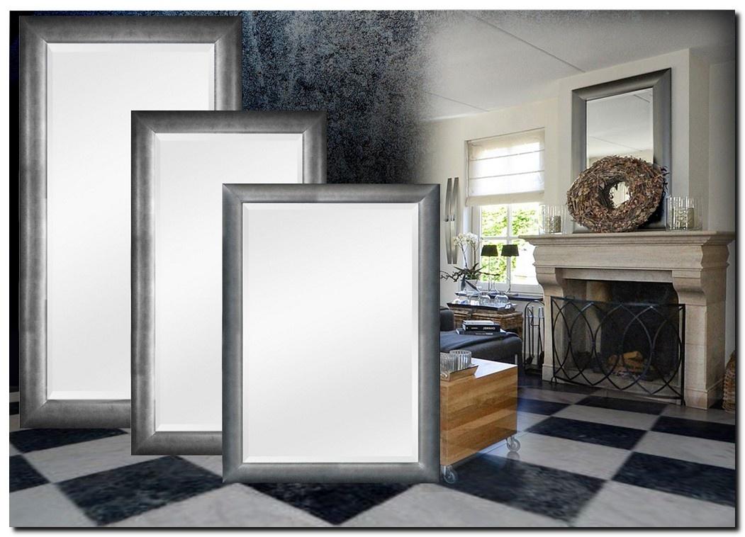 Moderne Spiegel Enzo Antiekzilver
