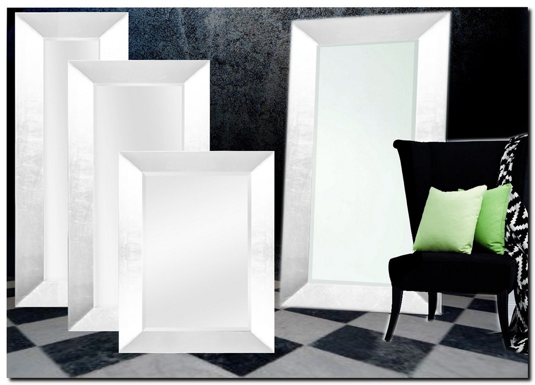 Moderne Spiegel Romano Helder Zilver
