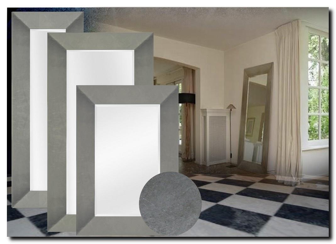 Moderne Spiegel Romano Antiekzilver