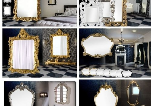 Crested and Arch Mirrors