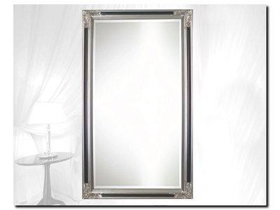 Barokspiegel.nl Mirror Osvaldo Silver-Black