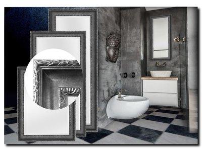 Barokspiegel.nl Mirror Leonardo Antiquesilver