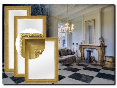 Barokspiegel.nl Mirror Leonardo Gold