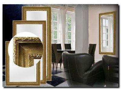 Barokspiegel.nl Mirror Leonardo Antiquegold
