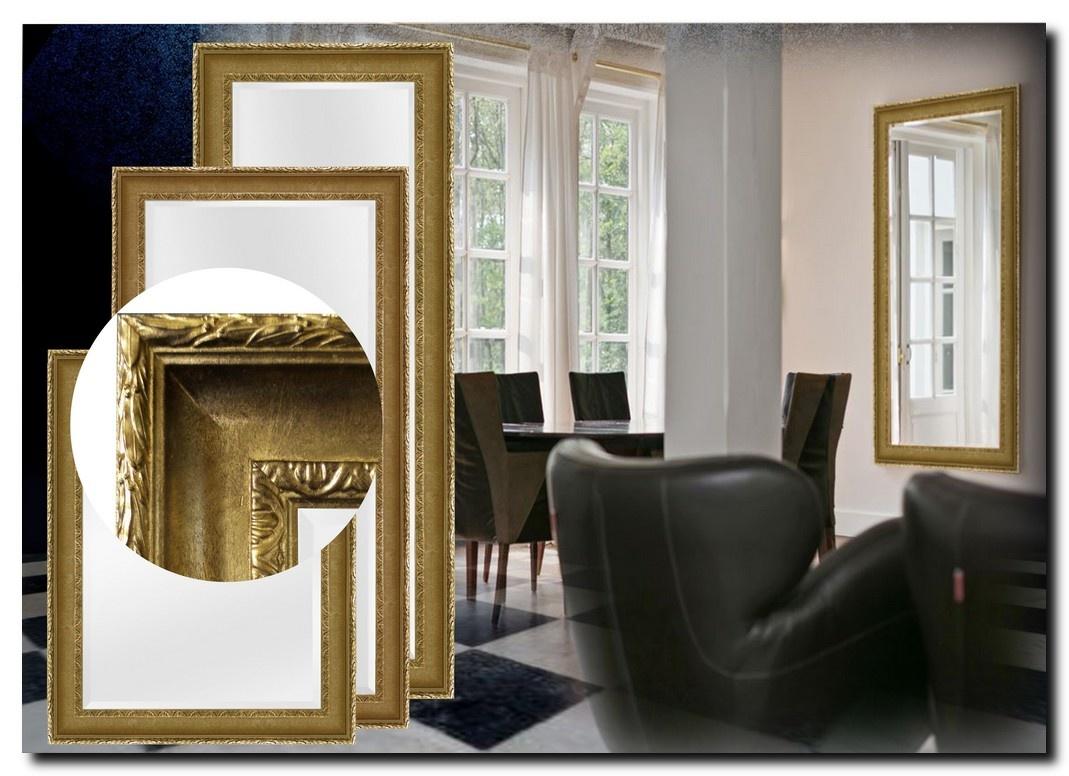 Elegante Spiegel Leonardo Antiekgoud