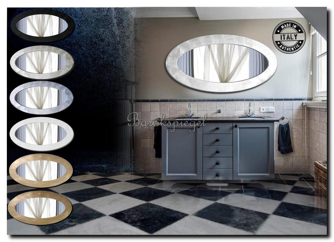 Grote ovale design spiegel Oriana