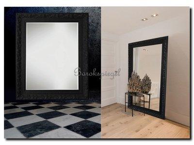 Barokspiegel.nl Mirror Antonio black  Sale!