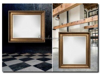 Barokspiegel.nl Mirror Leonardo antiquegold  Sale!