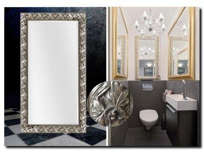 Barokspiegel.nl Mirror Olimpia silver Sale!