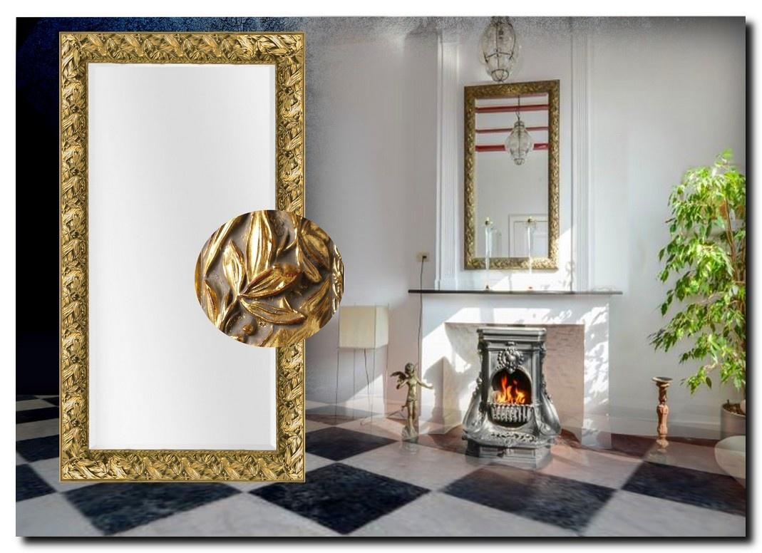 Barok spiegel Olimpia antiekgoud Aanbieding!