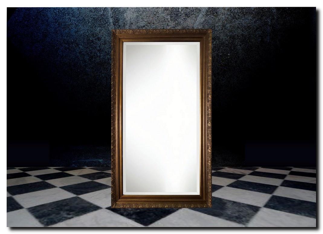 Klassieke spiegel Clemente antiekgoud Aanbieding!