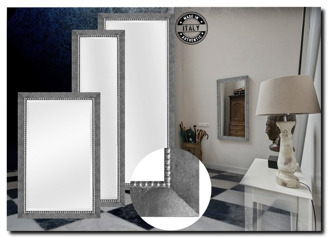 Fijn Klassieke Spiegel Pico Antiekzilver
