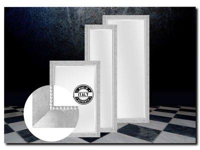 Barokspiegel.nl Mirror Pico Bright Silver