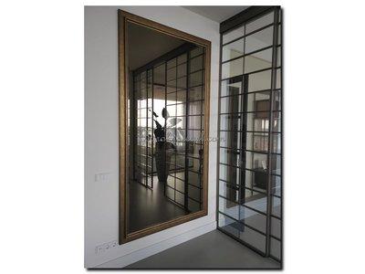 Barokspiegel.nl Mirror Lucerne Gold large 93mm