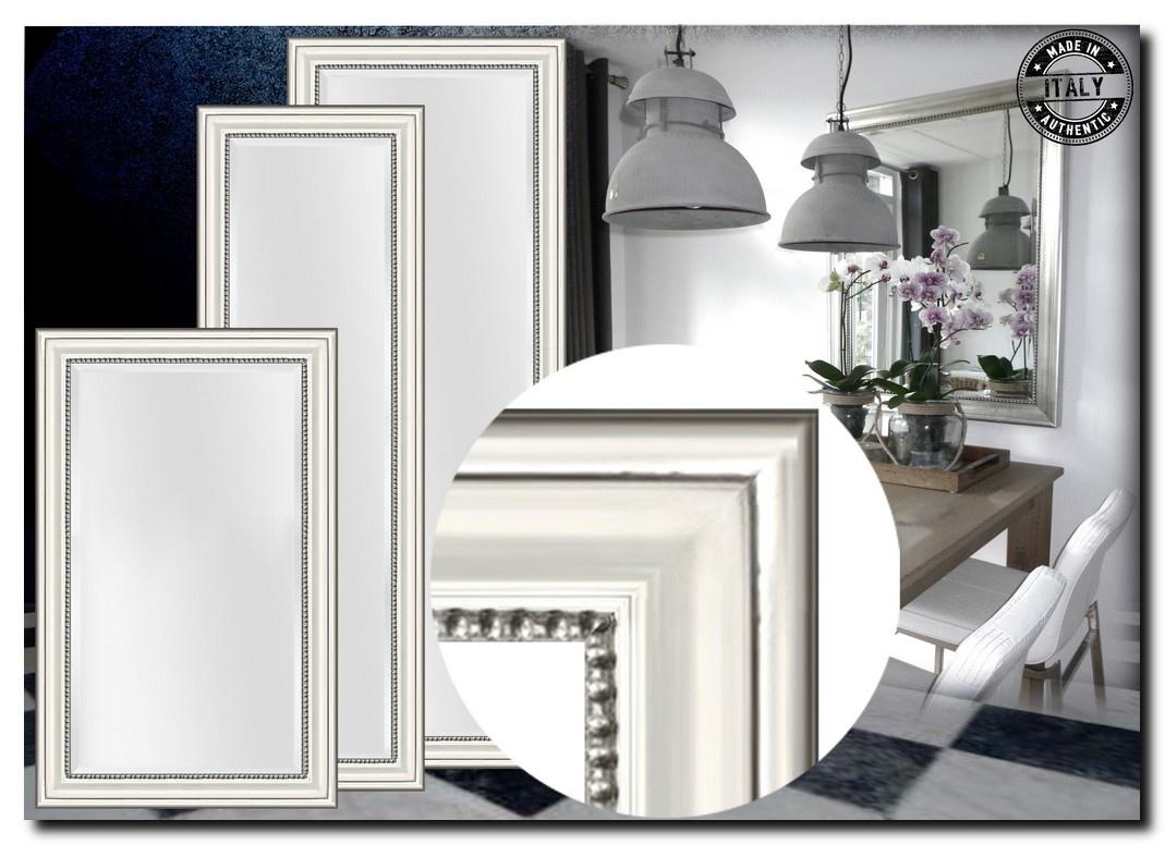 Modern Klassieke Spiegel Nino Zilver