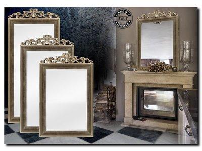 Barokspiegel.nl Mirror Rufino Antiquesilver-bronze