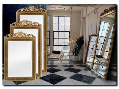 Barokspiegel.nl Mirror Rufino Antiquegold