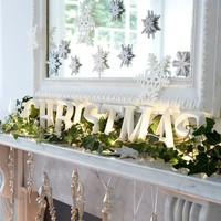 Tover jouw spiegel om tot stijlvolle en mooie kerstspiegel
