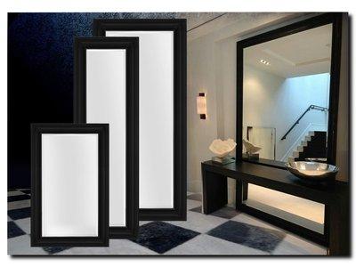 Barokspiegel.nl Mirror Edmundo Black matt