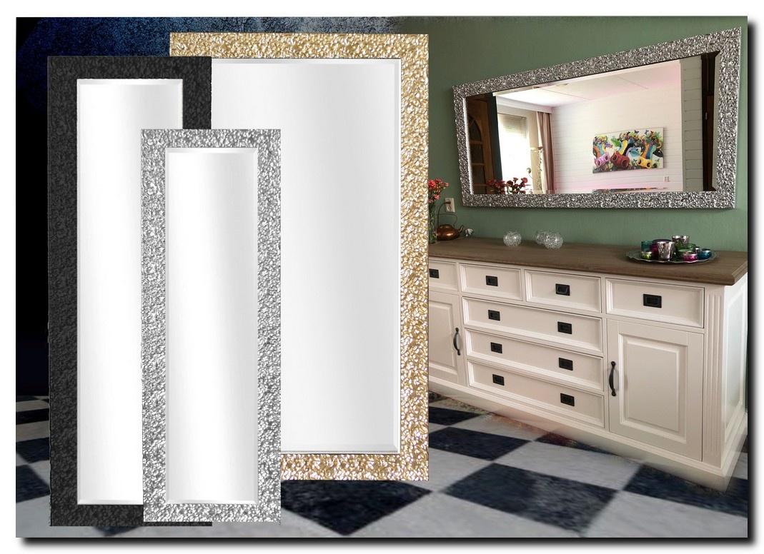 Mooi bewerkte design spiegel Samanta