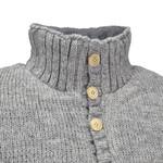 Pure Wool Pure Wool herentrui MNL-1701 Ecru